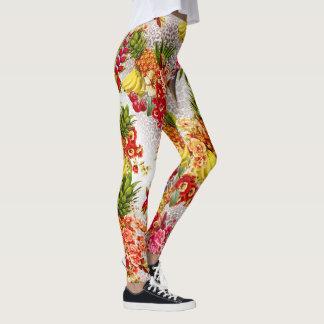 Legging print tropical