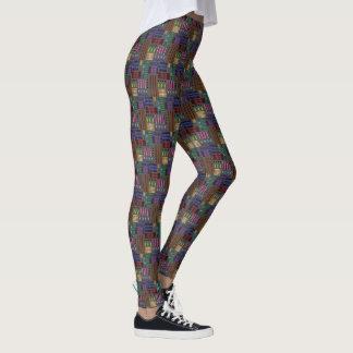 """Legging with """"Multi-Metal Gradients"""" design"""