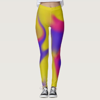 Leggings, abstract and colourful leggings