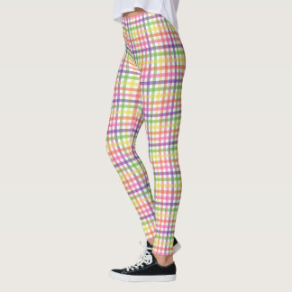Leggings - All Over - Plaid for Painted Spider Mum