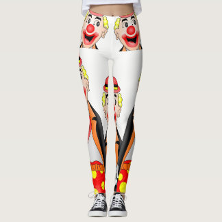 leggings clown