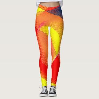 Leggings-Colorful Abstact Leggings