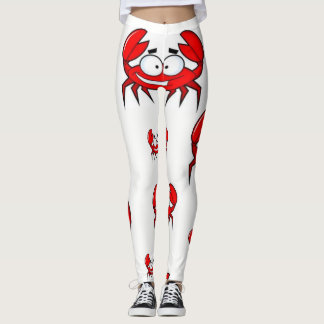 leggings crabs