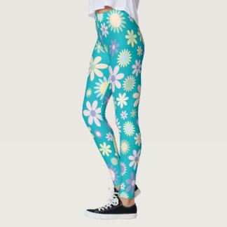 Leggings/Floral Daisies Leggings