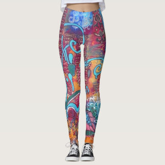"leggings ""Happy day"""
