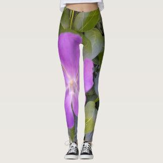 Leggings- Little Purple Bloom Leggings