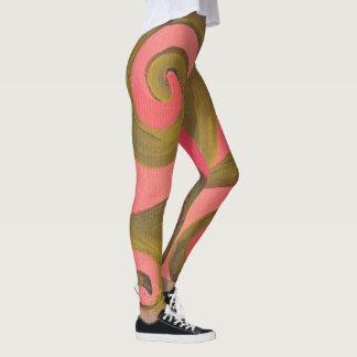 Leggings- Sunset Swirl Leggings