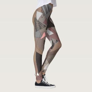 "Leggings with ""Triangles Sierra"" design"