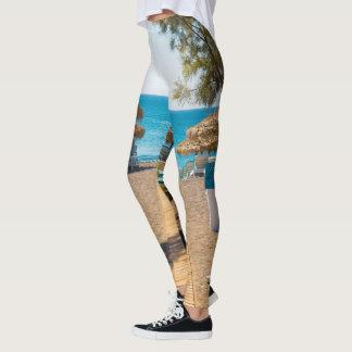 leggins beach leggings