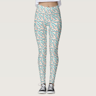 Leggins with little flowers pattern leggings
