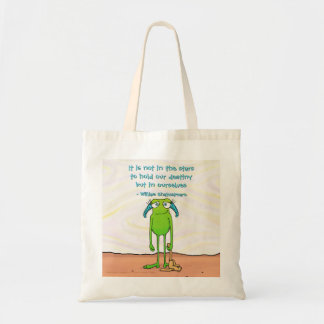 Leggs the Alien, tote