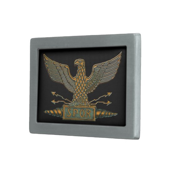 Legion Eagle Dark Copper Buckle Rectangular Belt Buckle