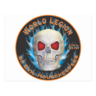 Legion of Evil Housekeepers Post Cards