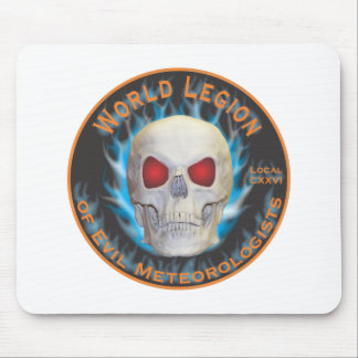 Legion of Evil Meteorologists Mouse Mat
