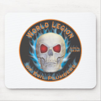 Legion of Evil Plumbers Mouse Mat