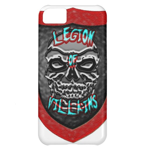 Legion of Villains Cover For iPhone 5C