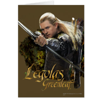 LEGOLAS GREENLEAF™ Drawing Bow Graphic Card