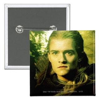 LEGOLAS GREENLEAF™ Front Portrait 15 Cm Square Badge