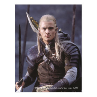 LEGOLAS GREENLEAF™ on Horse Postcard
