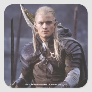 LEGOLAS GREENLEAF™ on Horse Square Sticker