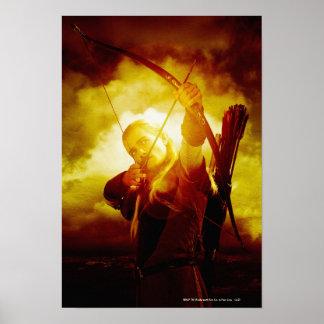 LEGOLAS GREENLEAF™ Shooting Arrow Poster