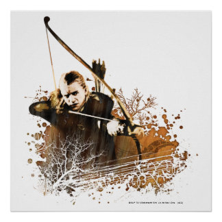LEGOLAS GREENLEAF™ Shooting Arrow Poster