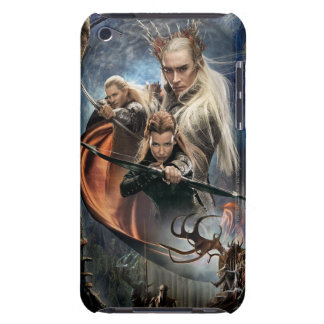 LEGOLAS GREENLEAF™, TAURIEL™, and Thranduil Barely There iPod Case