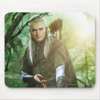 LEGOLAS GREENLEAF™ with bow Mouse Pad