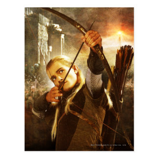 Legolas in Action Post Card