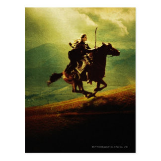Legolas on Horse Post Cards