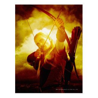 Legolas Shooting Arrow Postcard