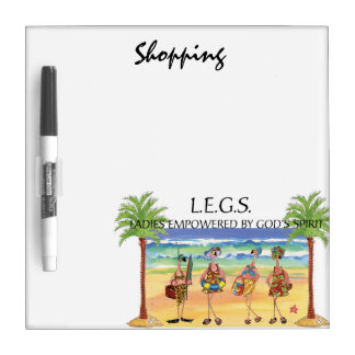 LEGS - Shopping dry erase board
