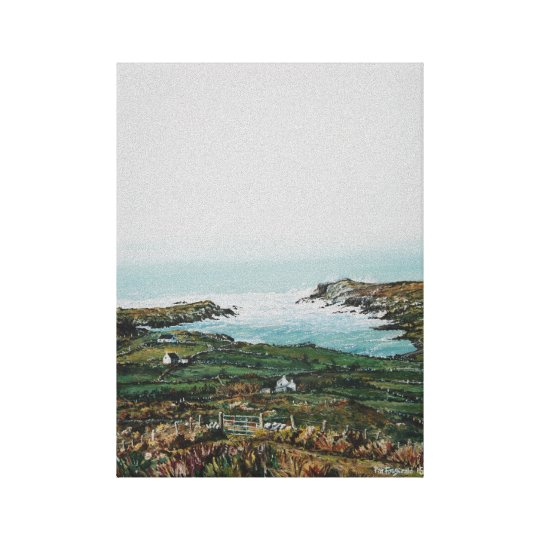 Lehanbeg Landscape: Original Oil , Canvas Print
