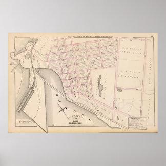 Lehigh and Wilkesbarre Coal Company wharf Atlas Poster