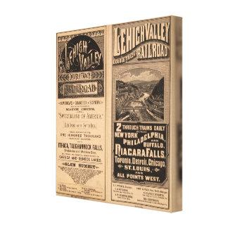 Lehigh Valley Railroad Canvas Print