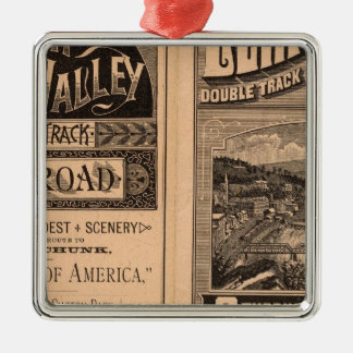 Lehigh Valley Railroad Christmas Ornament