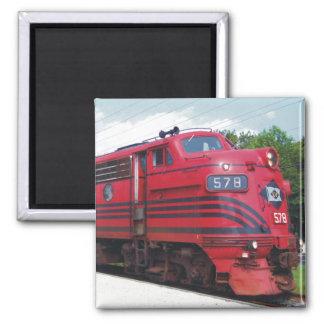 Lehigh Valley Railroad F-7A #578 @ Cape May N.J. Magnet
