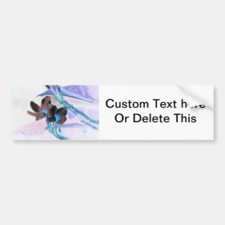 lei invert flower pastels neat flower design bumper sticker