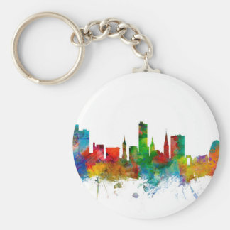 Leicester England Skyline Key Chains