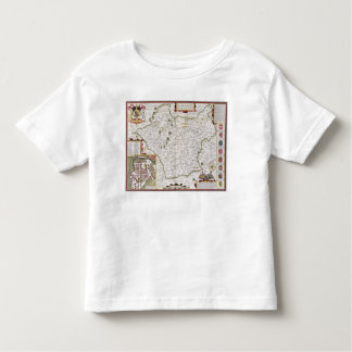 Leicester, engraved by Jodocus Hondius Toddler T-Shirt