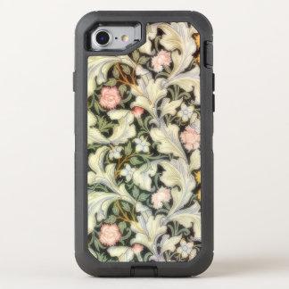 Leicester Vintage Floral Pattern OtterBox Defender iPhone 7 Case
