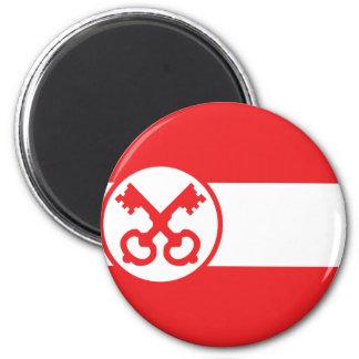 Leiden, Netherlands 6 Cm Round Magnet