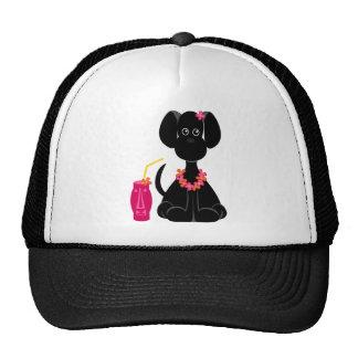 LeiLani the Black Lab Trucker Hat