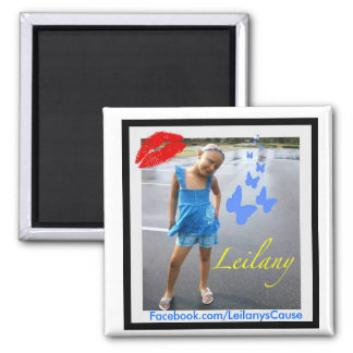 Leilany's Cause 2 Inch Magnet