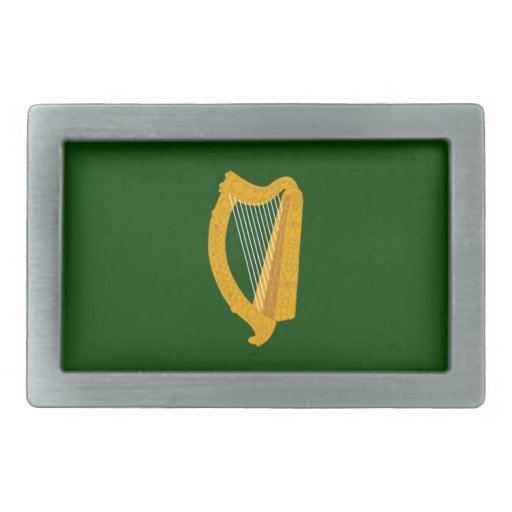 Leinster (Ireland) Flag Belt Buckle