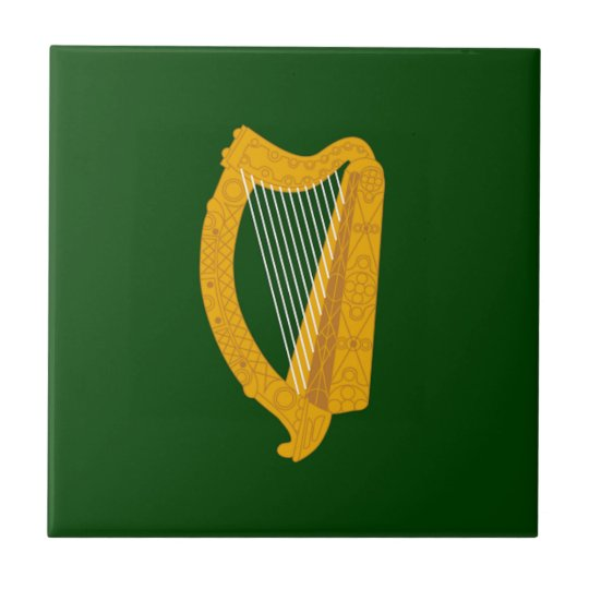 Leinster (Ireland) Flag Small Square Tile