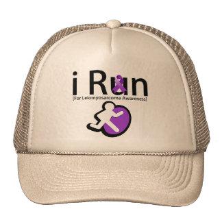 Leiomyosarcoma Cancer Awareness I Run Hat