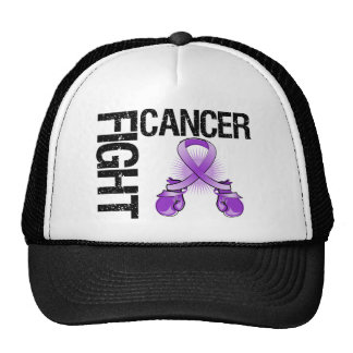 Leiomyosarcoma Cancer Fight Boxing Gloves Mesh Hats