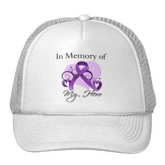 Leiomyosarcoma Cancer In Memory of My Hero Hats