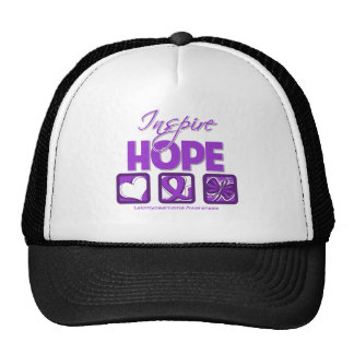 Leiomyosarcoma Cancer Inspire Hope Trucker Hat